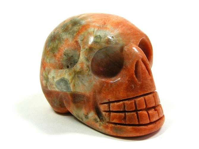 Celestobarite Skull No2 - 50mm, 114grms