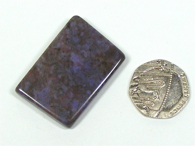Purple Jade Polished Slice No3