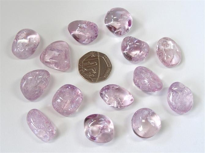 Quartz - Rose Aura, Extra Quality Tumble Stone