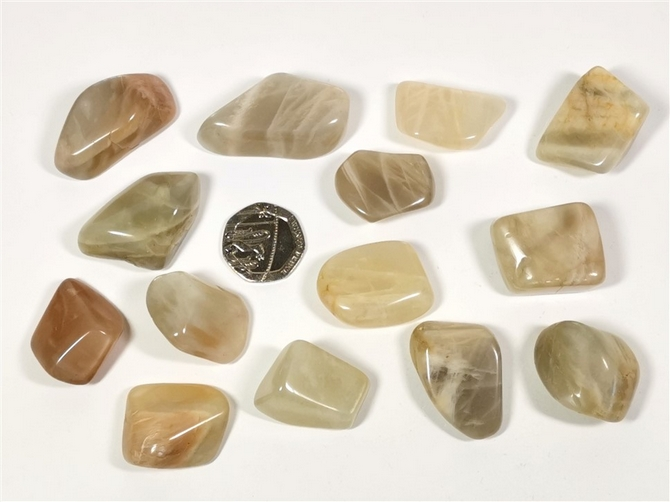 Moonstone Tumble Stone