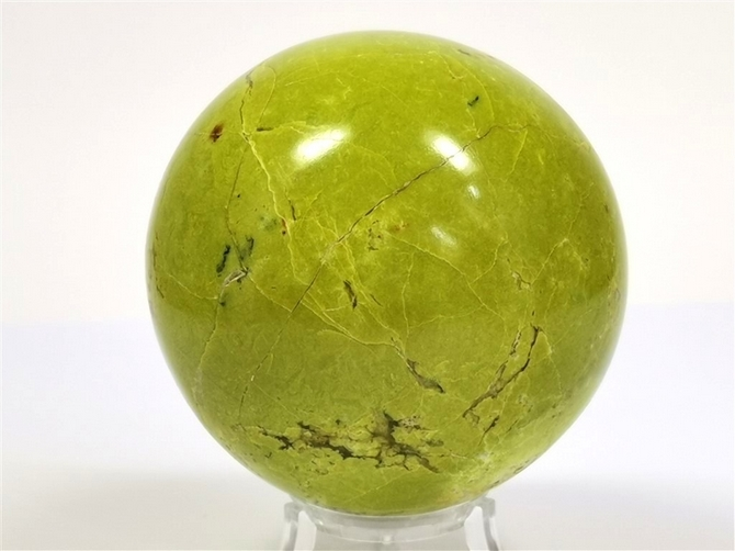 Madagascar Green Opal Sphere - you will receive this exact sphere