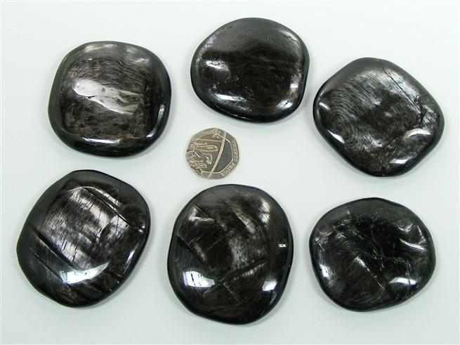 Hypersthene Palm Stone