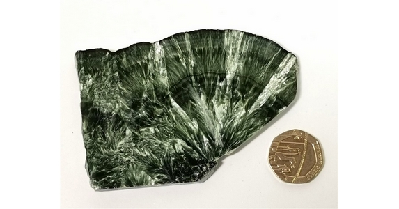 Seraphinite Polished Slice No3
