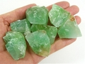 Natural Green Calcite
