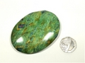 Ruby in Fuchsite Palm Stone - you will receive this exact palm stone