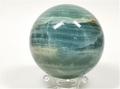 Lemurian Aquatine Calcite Sphere - you will receive this exact sphere