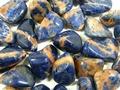 Sunset Sodalite Tumble Stone