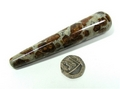 Spessartine Garnet in Limestone Wand No3, 100mm long
