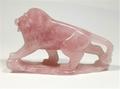 Rose Quartz Lion