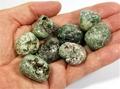 Heulandite - Green, Tumble Stone