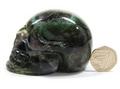 Purple Fluorite Skull - 75mm, 274grms