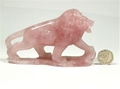 Rose Quartz Lion